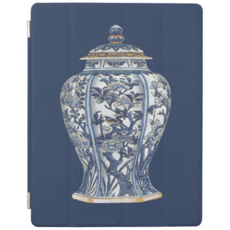 Blue & White Porcelain Vase by Vision Studio iPad Cover