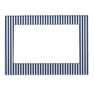 Blue & White Sailor Stripes Picture Frame
