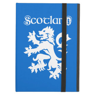 Blue & White Scottish Lion Rampant iPad Air Cover