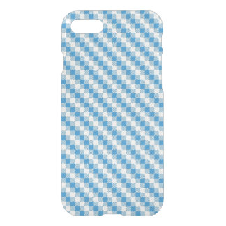 Blue-white squares background iPhone 8/7 case