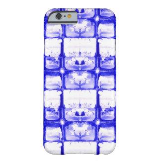 Blue White Squares iPhone 6/6s Case