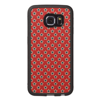 Blue & White Stars on Red iPhone 6 Plus Case