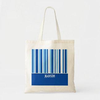 Blue & White Stripes; Cute Bags