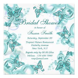 Blue white wedding engagement anniversary personalized invitation