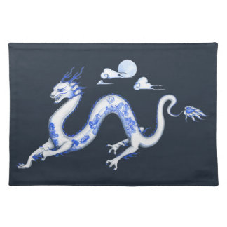 Blue Willow Dragon Place Mats