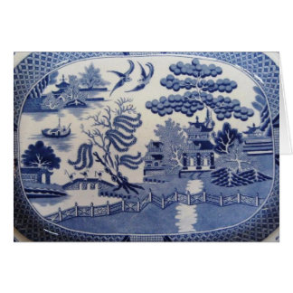 Blue Willow Greeting Cards Bring Back the Past