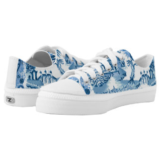 Blue Willow Low Top