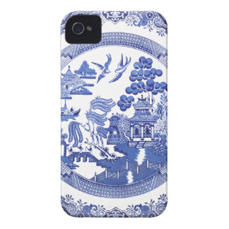 Blue Willow pattern iPhone 4 Cover