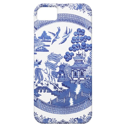 Blue Willow pattern iPhone 5 Case