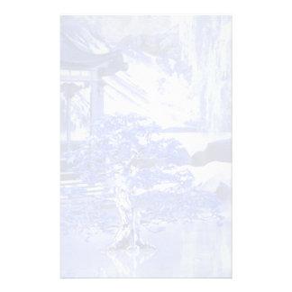 """Blue Willow World"" 2 Custom Stationery"