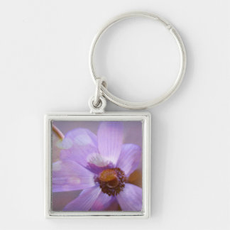 Blue Windflower. Key Ring