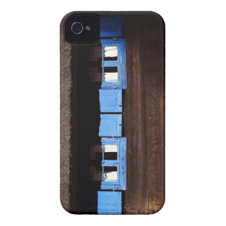 Blue Window Shutters - Blackberry Case