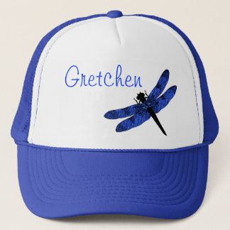 Blue Winged Dragonfly Trucker Hat