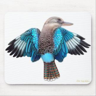 Blue Winged Kookaburra Mousepad