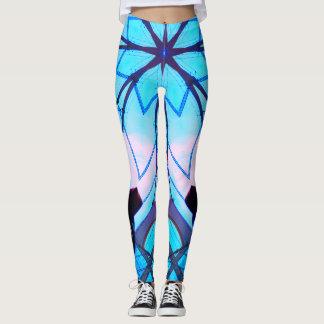 Blue Winter Leggings