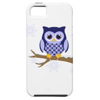 Blue winter owl iPhone 5 covers
