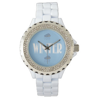 Blue winter watches
