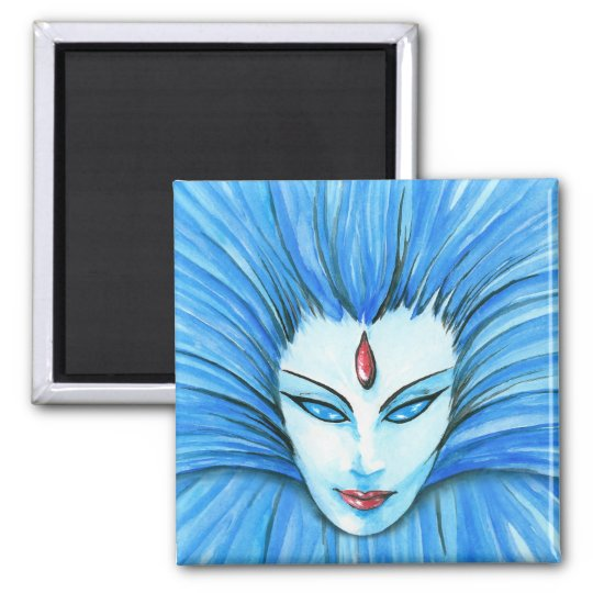 Blue Witch Magnet