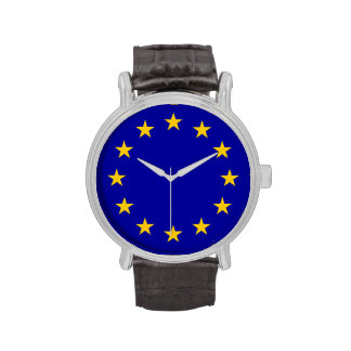 Blue with Gold stars Watches