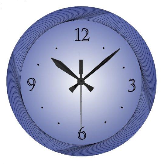 Blue with Light Blue Centre> Kitchen Clocks