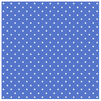 Blue with white stars Pattern Cut Outs