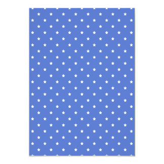 Blue with white stars. Pattern. Announcements