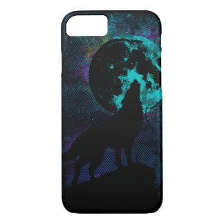 Blue Wolf Apple iPhone 7 case