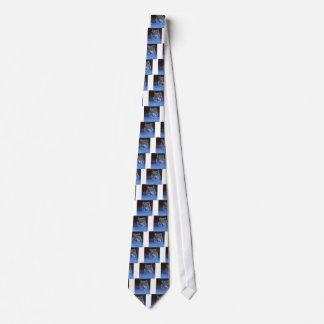 Blue Wolf Tie