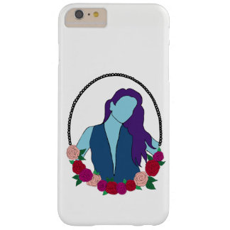 Blue woman barely there iPhone 6 plus case