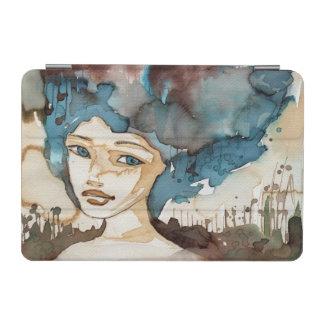 Blue Woman iPad Mini Cover