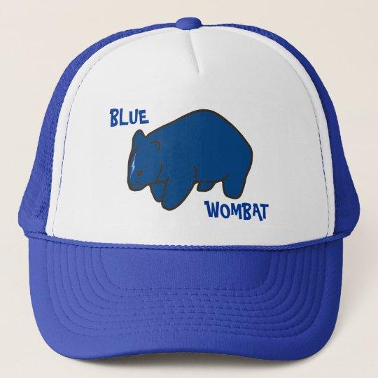 Blue Wombat Cap