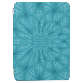 Blue wood abstract pattern iPad air cover