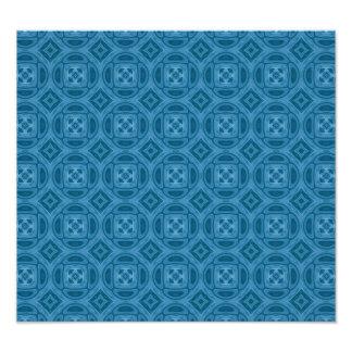 Blue wood abstract pattern art photo
