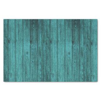 blue wood tissue paper