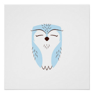 Blue Woodland Owl