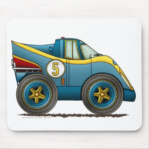 Blue World Manufactures Championship Car Mouse Pad