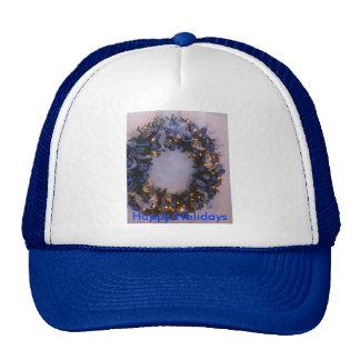 Blue Xmas Cap