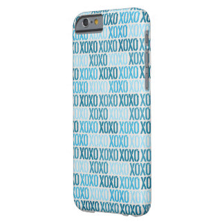Blue XOXO Skin Barely There iPhone 6 Case