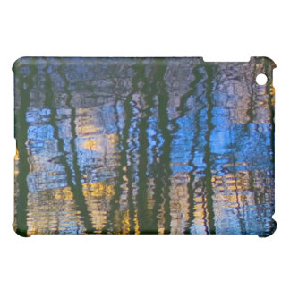 Blue & Yellow Abstract Reflections Perned iPad Mini Case
