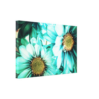Blue & Yellow Daisies Canvas