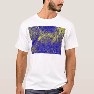 blue yellow elephant T-Shirt