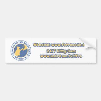 Blue/Yellow Logo Bumper Sticker