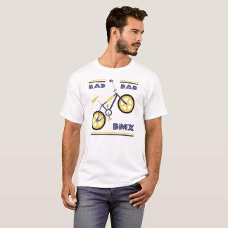 Blue/Yellow Rad Dad BMX T-Shirt