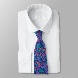 Blue Yoga Tie
