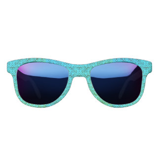 Blue Zebra (b) - Sunglasses