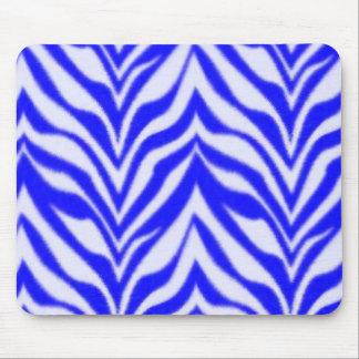 Blue Zebra Mouse Mat
