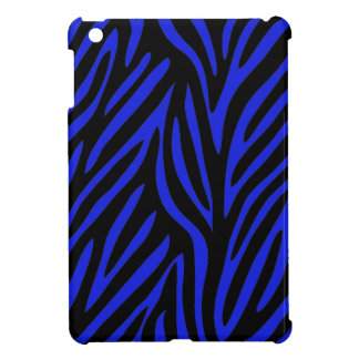 Blue Zebra Print Case For The iPad Mini
