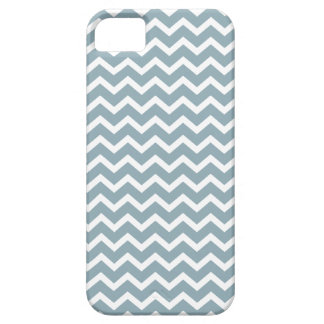 Blue Zig Zag Chevrons Pattern Case For The iPhone 5