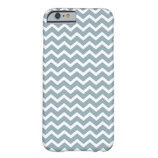 Blue Zig Zag Chevrons Pattern iPhone 6 Case