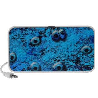 Blue Zombi Eyes Speaker
